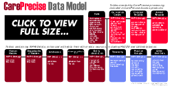 Click to view the healthcare provider database data model