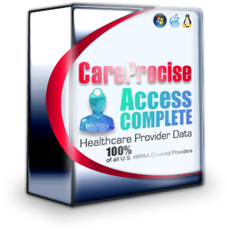 CarePrecise Access Complete - the full national healthcare provider database