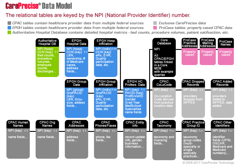 CarePrecise Data Model